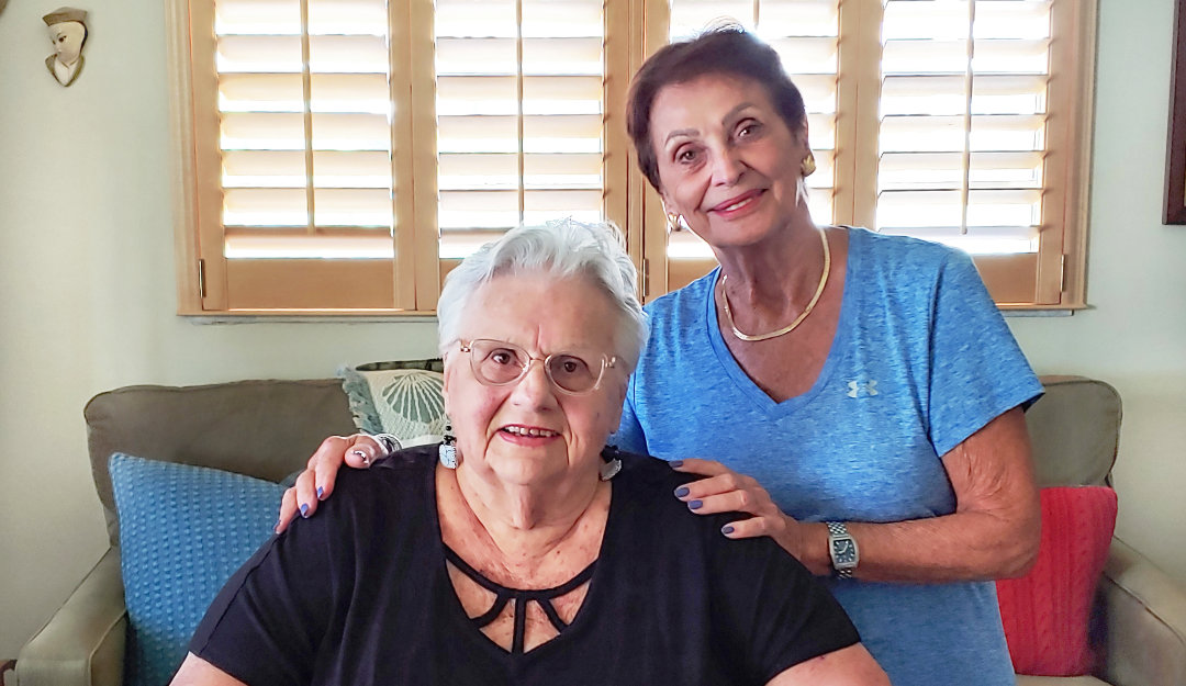 Seniors Helping Seniors in Southwest Broward (Joanne and Linda - Client and Caregiver)